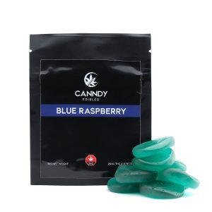 Canndy Gummies Blue Raspberry